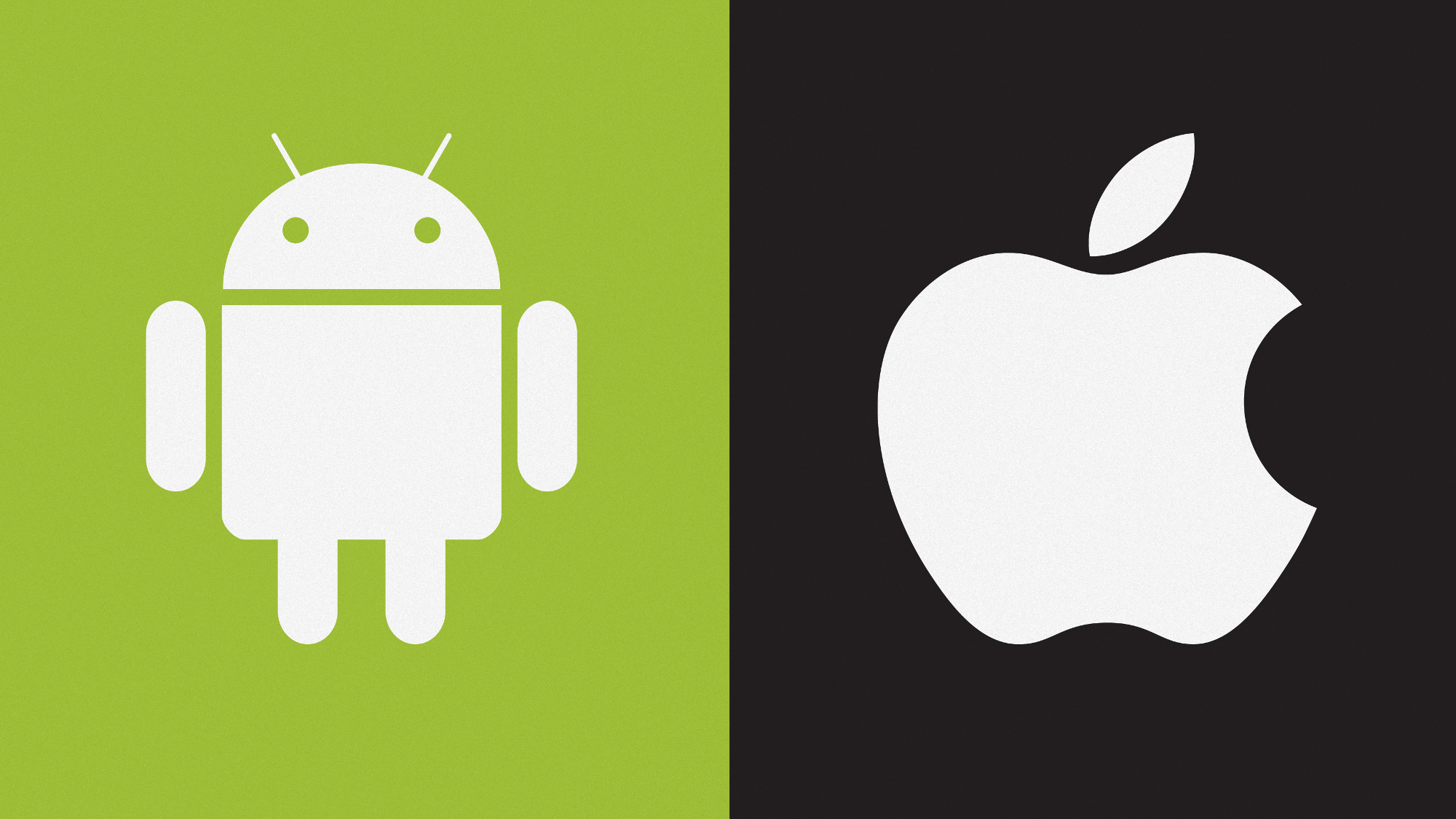 Android vs iOS. Or not.